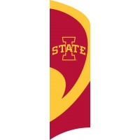 TTIAS Iowa State Tall Team Flag with pole