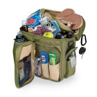 Picnic Time Turismo - Olive W/Tan Trim Insulated Backpack