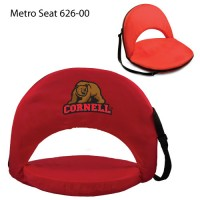 Cornell University Printed Metro Seat Recliner Red