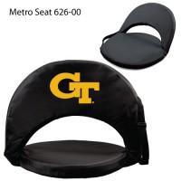 Georgia Tech Printed Metro Seat Recliner Black