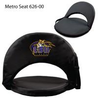 Louisiana State Printed Metro Seat Recliner Black