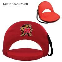 University of Maryland Printed Metro Seat Recliner Red