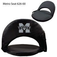 Mississippi State Printed Metro Seat Recliner Black