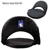 Northwestern Printed Metro Seat Recliner Black