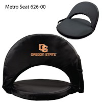 Oregon State Printed Metro Seat Recliner Black