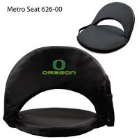 University of Oregon Printed Metro Seat Recliner Black