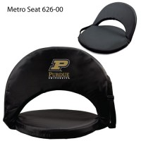 Purdue University Printed Metro Seat Recliner Black