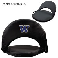 University of Washington Printed Metro Seat Recliner Black