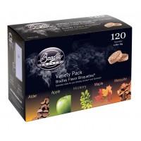 Bradley Technologies Smoker Bisquettes 5 Flavor Variety (120 Pack)