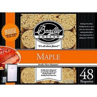 Bradley Maple Bisquettes (48 Pack)