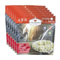 Wise Foods Pasta Alfredo w/Chicken 2 Serving Pouch (6 Pack)