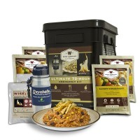 Wise Ultimate 72 Hour Kit (72 Servings, Water Filter, Fire)
