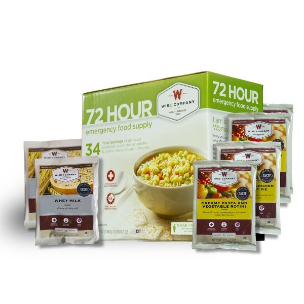 72 Hour Emergency Food Supply by Wise Foods