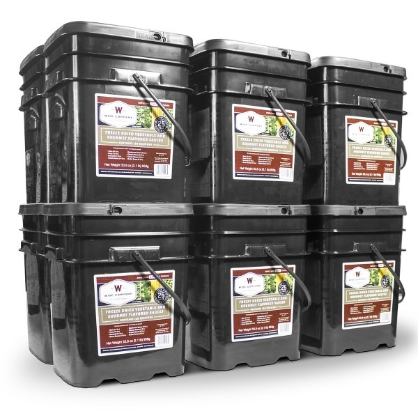Wise Foods 1440 Serving Vegetable Bucket (New!)