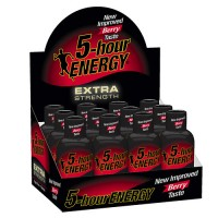 5-Hour Energy Extra Strength Berry /12