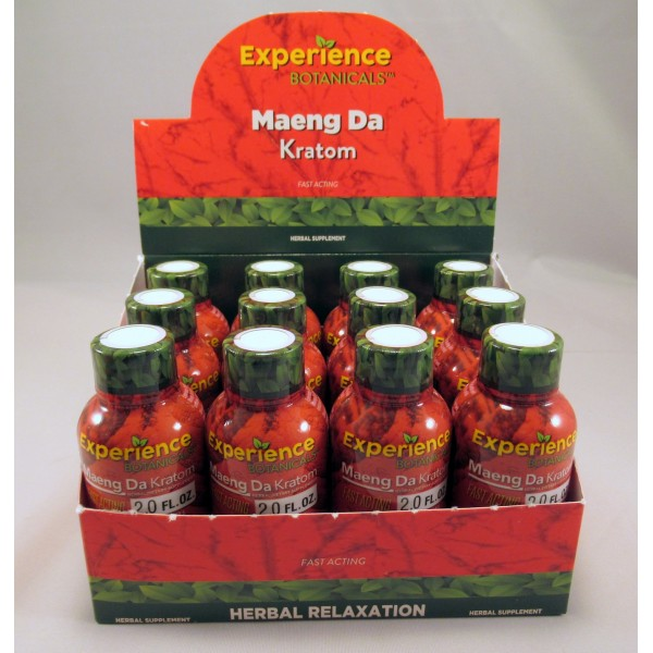 Experience Botanicals 2oz Shot - Fast Acting (12) Same Great Product ~ Fresh New Look