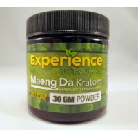 Experience Botanicals Fast Acting Maeng Da Powder (30GM) Same Great Product ~ Fresh New Look