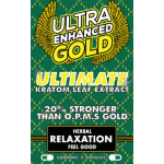 Ultra Enhanced Gold - Ultimate Kratom Leaf Extract - Feel Good Herbal Relaxation (12ea) (2pk)