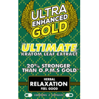 Ultra Enhanced Gold - Ultimate Leaf Extract - Feel Good Herbal Relaxation (12ea) (2pk)