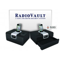 Cannon Security Products Biometric RadioVault-Black