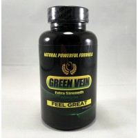 Green Vein Extra Strength - Natural Powerful Formula - Feel Great! Caps (70-4.55g)