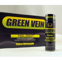 Green Vein Extra Strength - Kratom Liquid Extract - Feel Great (15ml) (1)