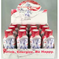 K-Chill White Lightning Mood Lifting Energy Shots ~ Fruit Punch (12)