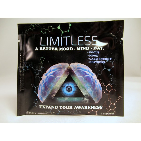 Limitless Atomixx - Brain Boosting Mental Performance Nootropic Pill for a Better Mood, Mind & Memory - Ginkgo Biloba, Caffeine, Vitamin B6 & More, 4 Capsules