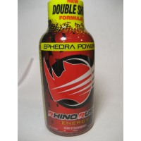 Rhino Rush Energy Drink - Strawberry/Kiwi with Ephedra (Samples)