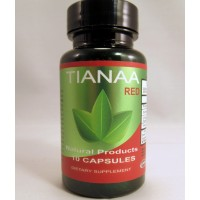 Tianaa Red - Kratom Alternative ~ Improve Mood ~ Reduce Pain & Stress ~ Increase Energy (10-650mg)