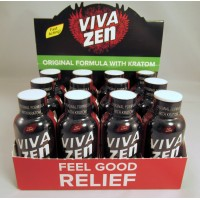 Vivazen - Natural Pain Relief for Muscle & Body (12) Original Formula with Kratom (NEW!)