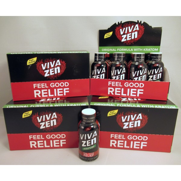 Vivazen - Natural Pain Relief for Muscle & Body - Original Formula with Kratom (NEW!) (48)