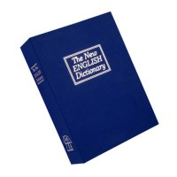 Bulldog Cases Deluxe Blue Diversion Book Safe