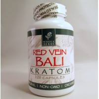 Whole Herbs - Red Vein Bali Capsules - Natural | Non-GMO | Organic (120ea)
