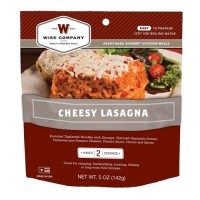 Wise Foods Cheesy Lasagna 2 Serving Pouch (6 Pack)
