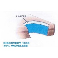 Discovery 1000 40% Waveless Waterbed Replacement Mattress