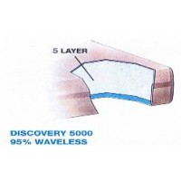 Discovery 5000 95% Waveless Waterbed Replacement Mattress