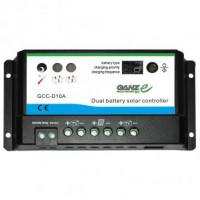 GANZ Eco-Energy GCC-D10A Dual Charge Controller - 12/24V