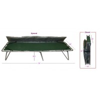 Gigatent Comfort Cot XL with mattress