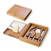 Picnic Time Soiree - Cheeseboard W/Wire And Tools Rectangular