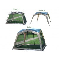 Gigatent Dual Identity 12x12 Gazebo - Screen Room