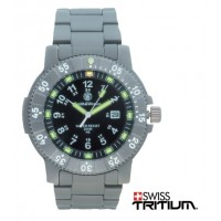 Smith & Wesson Swiss Tritium Executive Titanium Watch