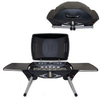 Portagrillo - Black w/Gray and Silver Portable Grill
