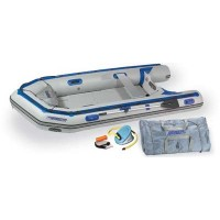 Sea Eagle 12ft 6in Rigid Inflatable Keel Boat Deluxe Package Capacity 6 Adults or 1600 lbs