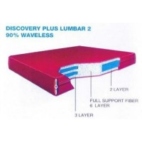 Discovery Plus Lumbar 2 - 90% Waveless Waterbed Replacement Mattress
