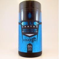 Blue Kratom - Extra Strength Premium Capsules - Feel Good - Fast (84ea/730mg)