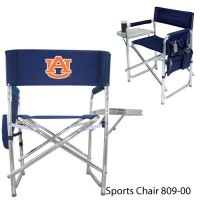 Auburn University Printed Sports Chair Navy