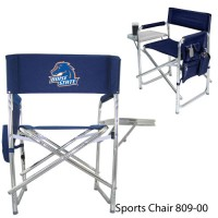 Boise State Printed Sports Chair Navy