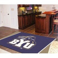 Brigham Young University  5 x 8 Rug