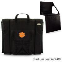 Clemson University Printed Stadium Seat Black